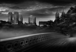 Bow Bridge, NY / Jean Michel Berts