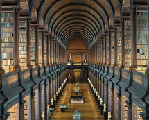 Trinity College Library - The Long Room IV / Reinhard Gorner