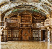 Library of the Abbey in Waldsassen, Bavaria / Reinhard Gorner