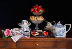 Still life with afternoon tea / Charlotte Fröling