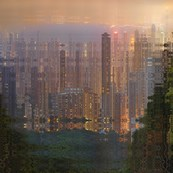 Hong Kong by night 1 / Didier Fournet