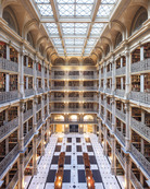 George Peabody Library, baltimore / Reinhard Gorner