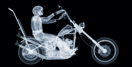 Easy Rider / Nick Veasey