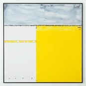 Composition jaune / Edouard BUZON