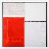 Composition rouge / Edouard BUZON