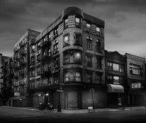 Between Broome and Orchard Street / Jean Michel Berts