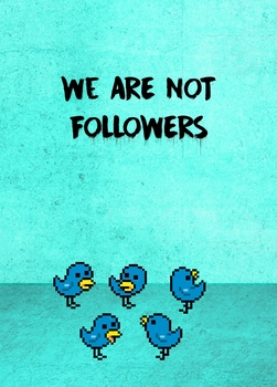 For Xmas, we are not followers !