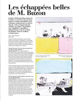 Edouard Buzon in Artravel Magazine!